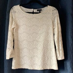 All over lace blouse